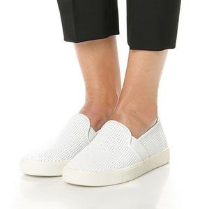 Vince Blair 5 Slip-On Sneaker  White sz7.5M NWT